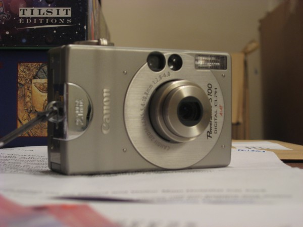 Old camera, from the new
